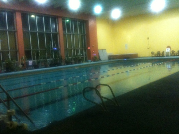 The pool where I swim