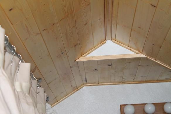 ceiling peak