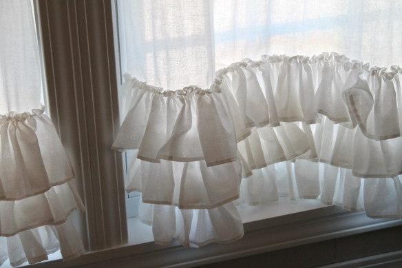 ruffle on curtains