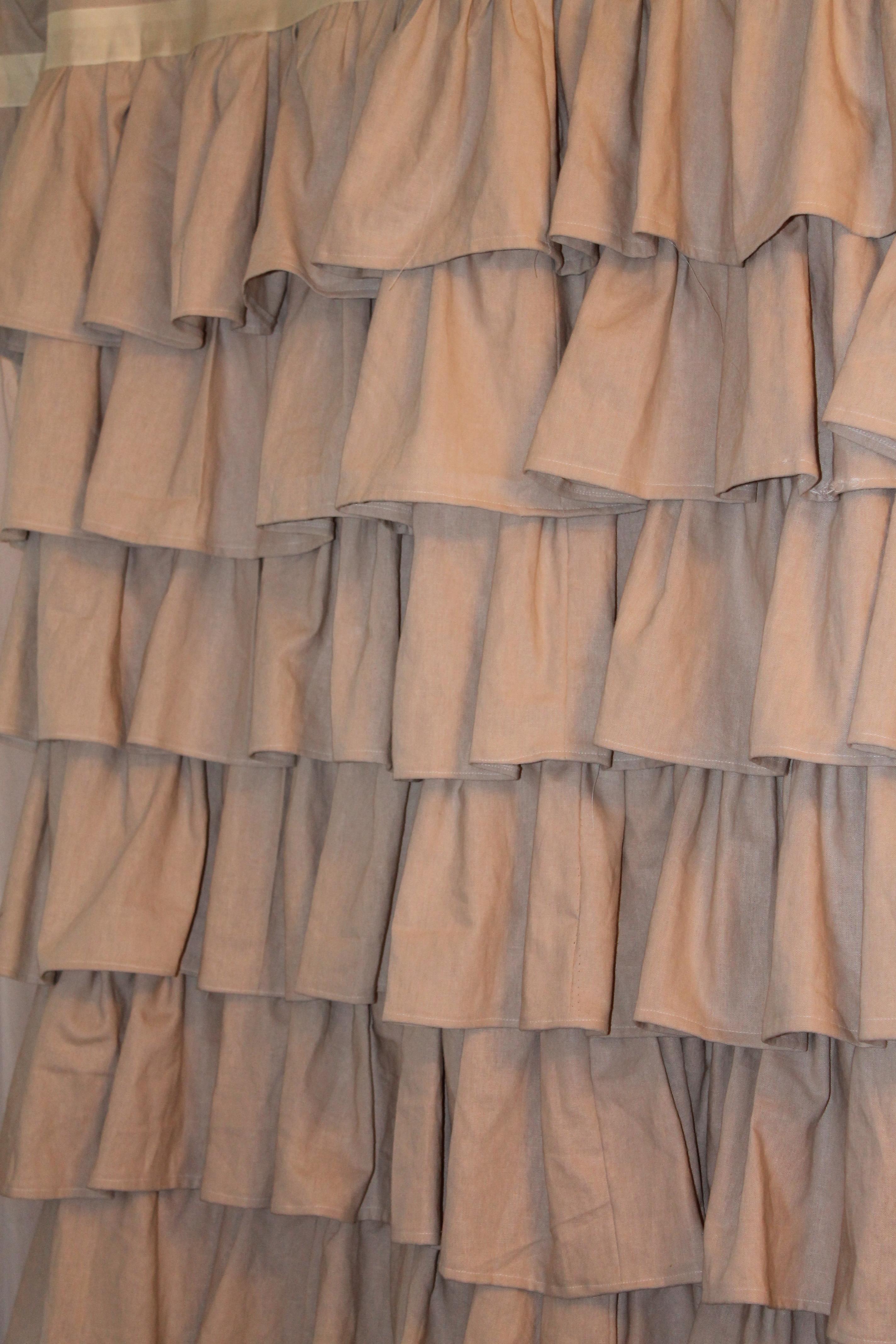 Farmhouse Shower Curtain Best 25 Shower Curtain Rods Ideas On Pinterest Farmhouse Shower Burlap