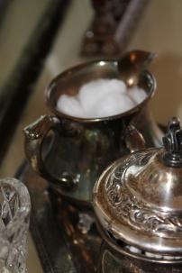 silver closeup