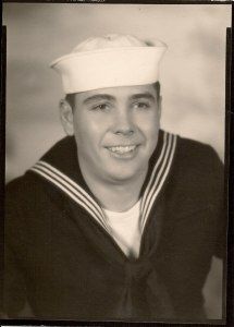 Dad in the Navy